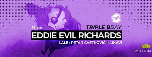 Evil Eddie Richards u klubu Three Dots