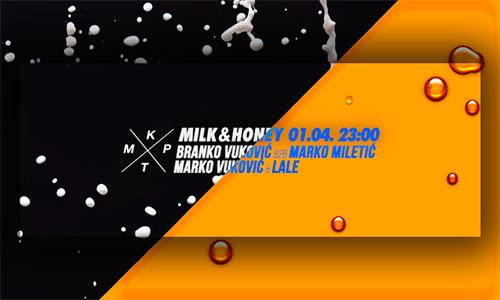 Milk & Honey u KPTM-u