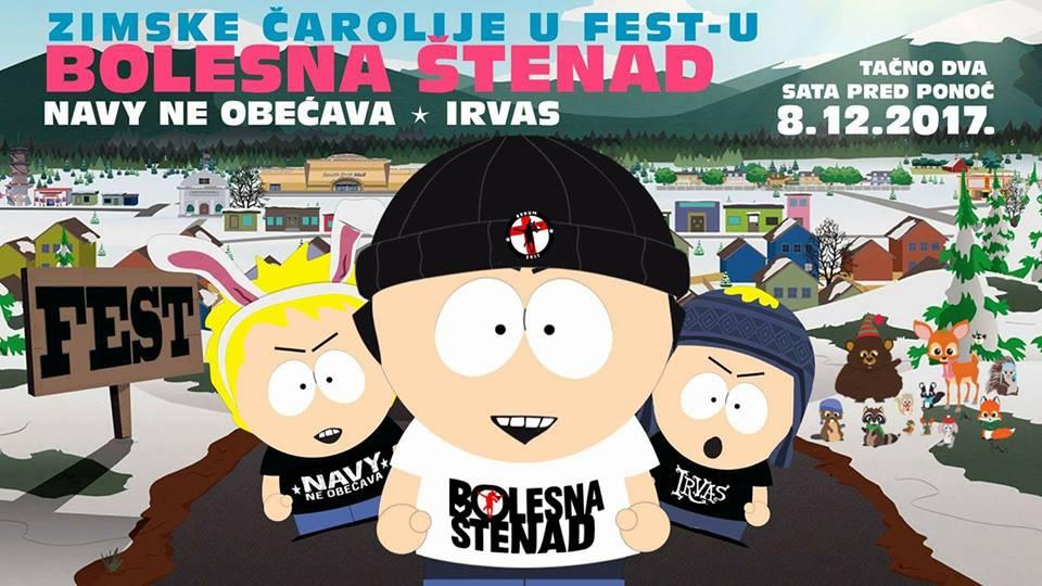 Bolesna Stenad, Fest