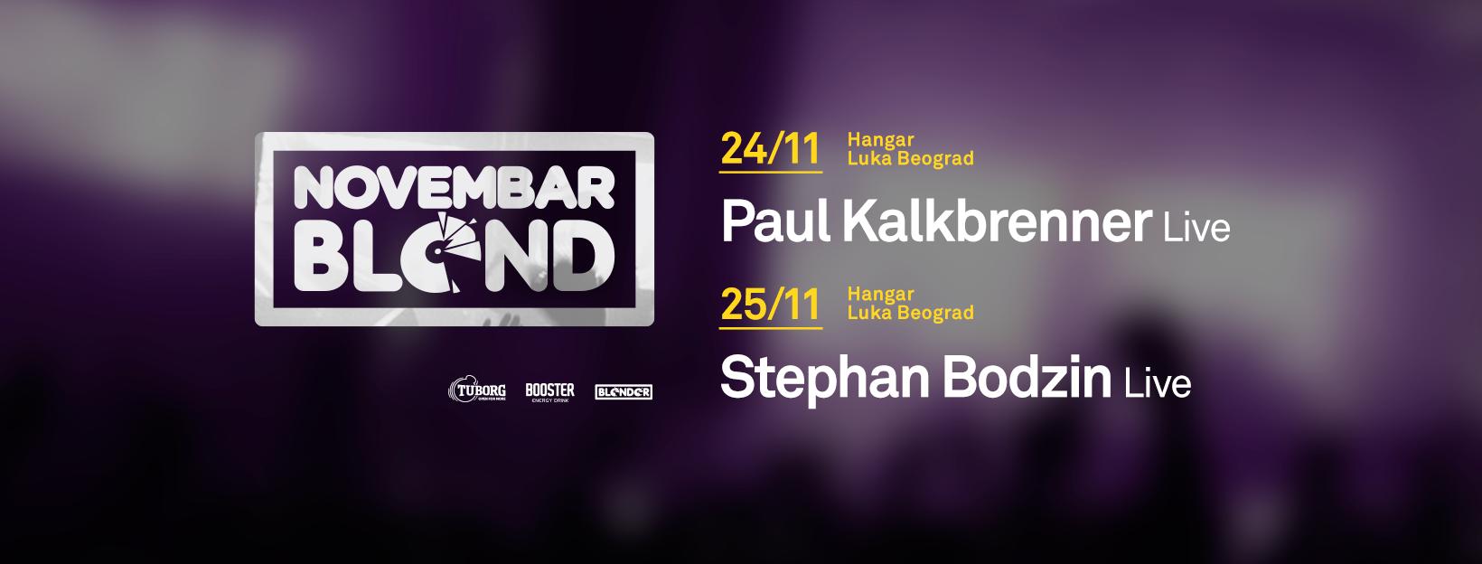 BLEND: PAUL KALKBRENNER I STEPHAN BODZIN