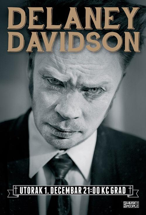 Delaney Davidson: Novozelandski vagabund i šaman blues/noir žanra prvi put u Beogradu!