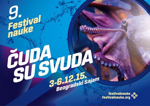 Bezbroj naučnih čuda na 9. Festivalu nauke! Beogradski sajam 2015