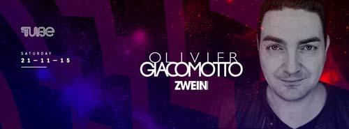 Olivier Giacomotto: Francuski Deep Tech zvuk u klubu The Tube | Beograd 2015