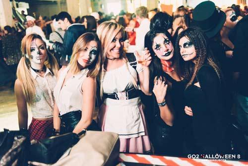 Završio se najveći Go2 Halloween maskenbal do sada - Krvava Subota   Noć veštica   Beograd 2015