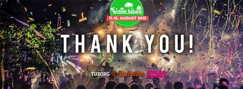 Green Future Festival predstavio officijalni aftermovie! 2015