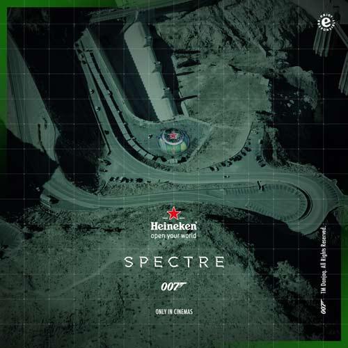 Spyfie: Heineken snimio prvi selfi iz svemira! | Kampanja Spectre | 2015 | Srbija