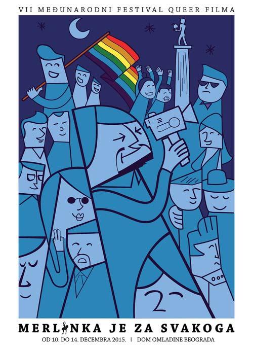 Merlinka je za svakoga: Sedmi Međunarodni festival LGBT filma! | Beograd 2015
