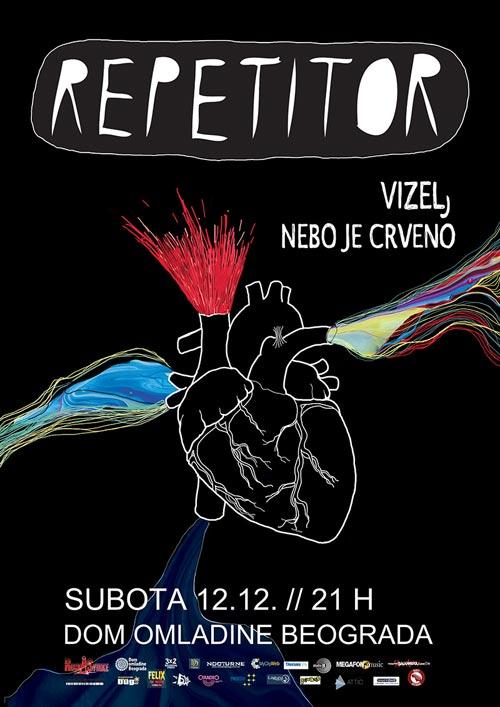 Veliki beogradski koncert grupe Repetitor u Domu omladine! Beograd 2015