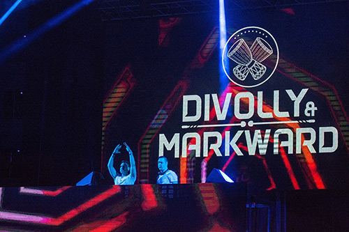 Divolly & Markward na Dance Areni Exit 2016