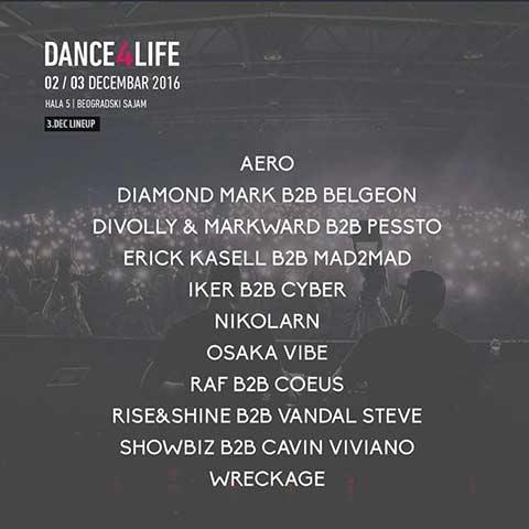 Dance4Life: Preko 30 najtraženijih izvođača domaće klupske scene!