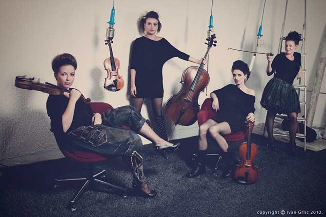 Gudački kvartet Intermeco | Photo by Ivan Grlic