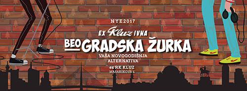 Novogodišnja alternativa - exKLUZivna beoGRADSKA žurka! | Doček Nove Godine 2017