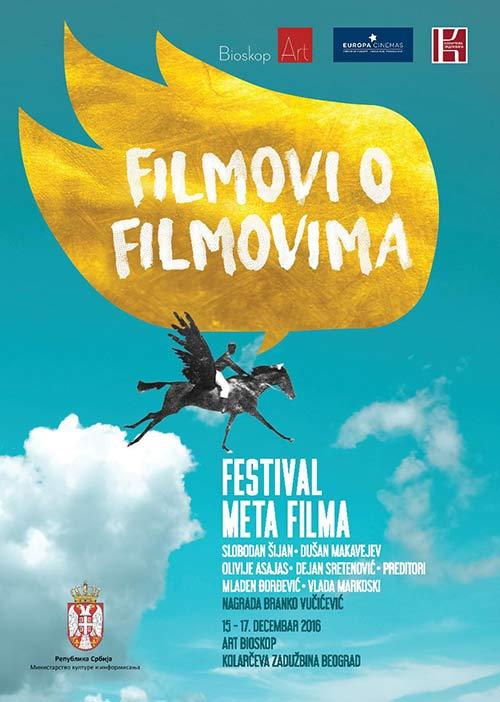Prvi put u Beogradu FESTIVAL META FILMA | Art bioskop Kolarac | Beograd 2016