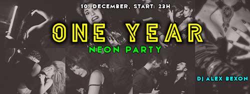 Kinky Bar ONE YEAR - Neon Party: Više od 80 žurki, hiljade posetilaca i mnogo zabave!