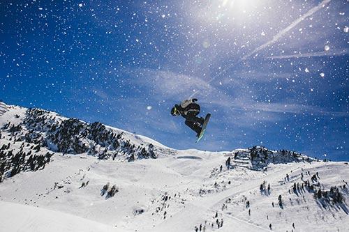 Snowbombing: Skijalište
