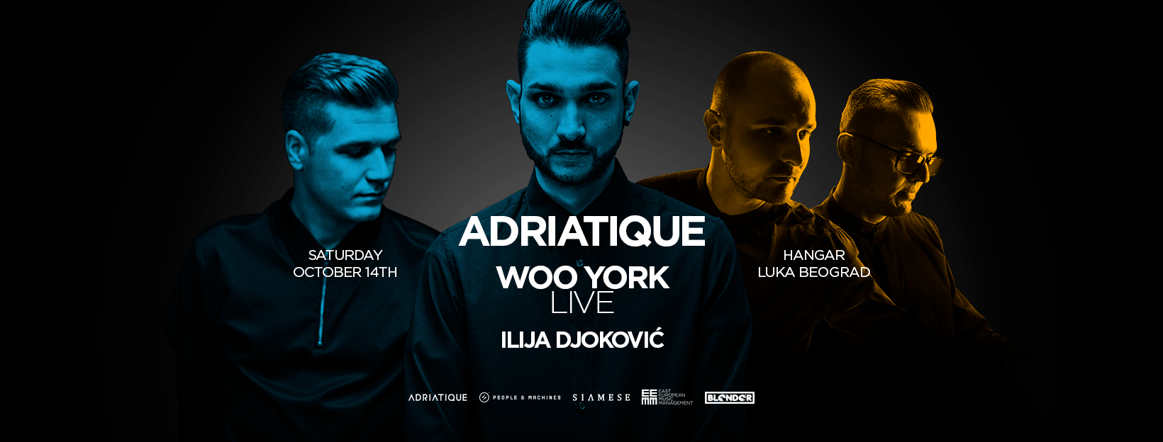 Adriatique I Woo York, Hangar