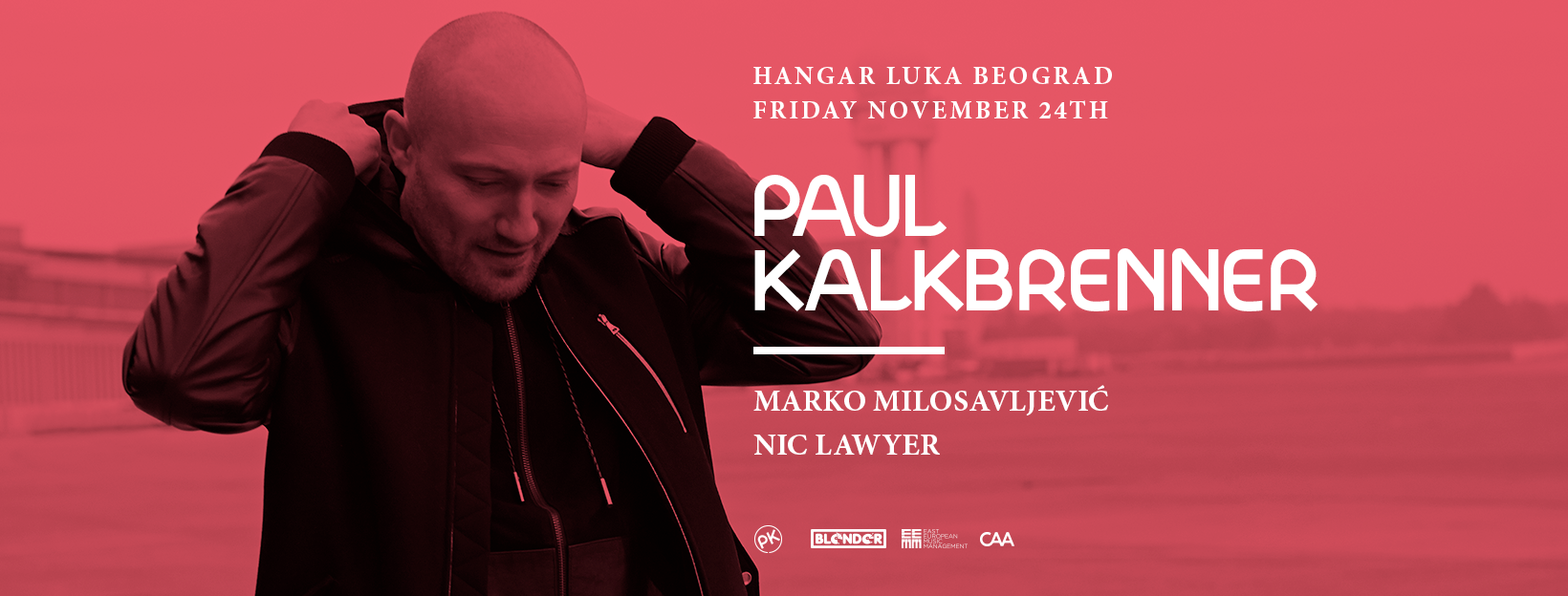 Blender: Berlinska ikona PAUL KALKBRENNER LIVE prvi put u Beogradu!