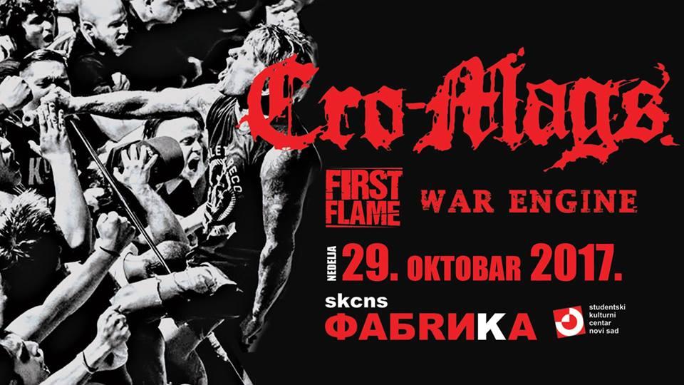 Cro Mags, Novi Sad