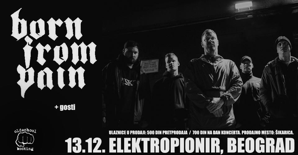 Born From Pain, Beograd, Elektropionir