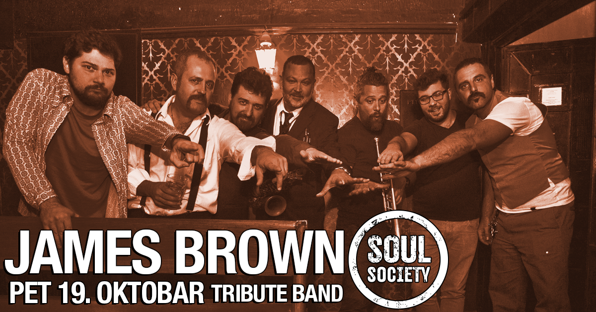 James Brown tribute band