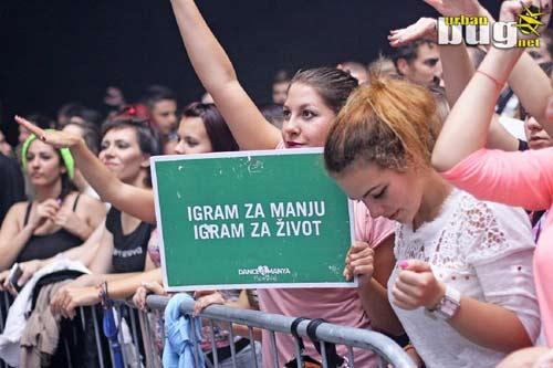 Festivalom Dance4Manya prikupljeno 30.000 eura i poslato 16.306 poruka! | Nemanja Ivanović