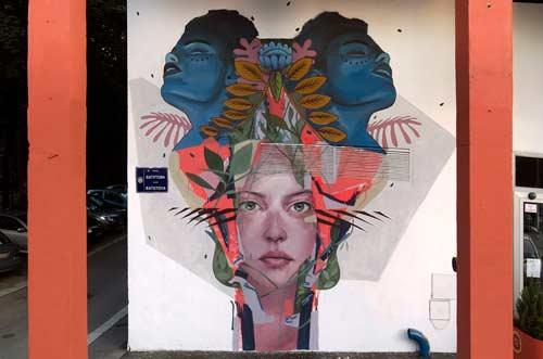 Beograd dobio dva nova murala u okviru projekta STREET SMART 2015