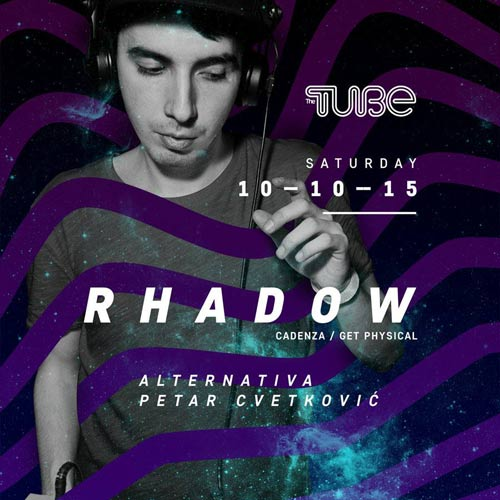 Rhadow: Poznati rumunski DJ i producent nastupa u klubu The Tube | Beograd 2015