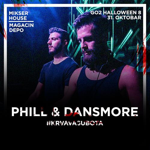 Go2 Halloween 8 | Krvava subota | Phill & Dansmore