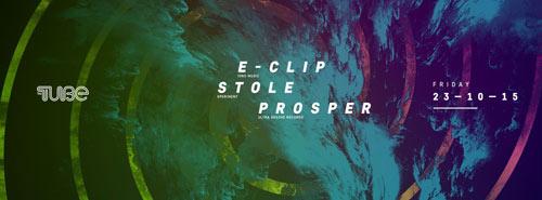 E-CLIP, STOLE & PROSPER: Psychedelic zvuk u klubu THE TUBE | Beograd 2015