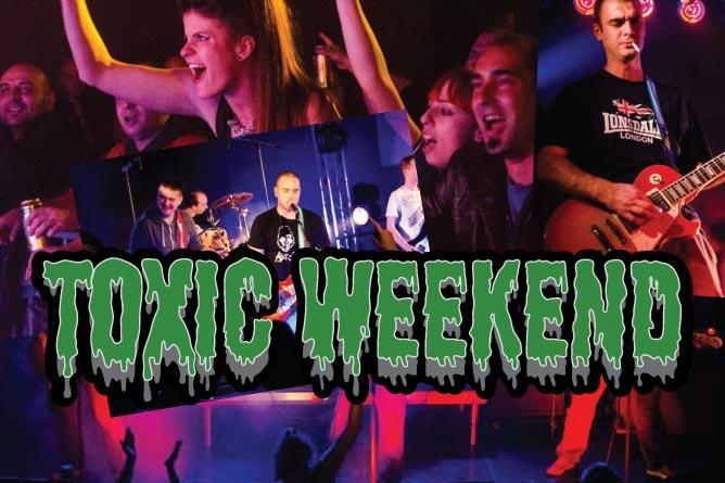 Toxic Weekend: Tradicionalni pank festival u Pančevu. Prodiši drugačijim vazduhom!