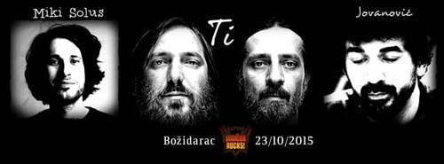 Vračar Rocks: MIKI SOLUS, grupa TI i JOVANOVIĆ u Božidarcu! | Beograd 2015