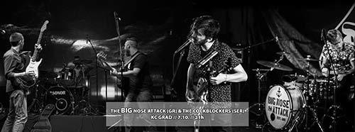 The Big Nose Attack: Besni nosati momci iz Atine, dolaze u Beograd da se dobro zabave!