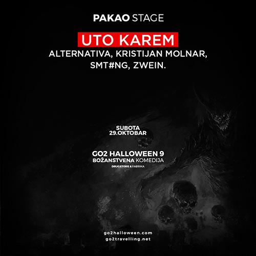 Go2 Halloween maskenbal - Božanstvena komedija -  Pakao