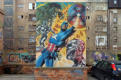 Grafit Superheroji
