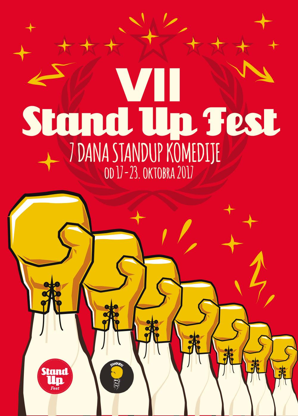VII StandUpFest 2017: 7 dana stand up komedije u Beogradu!