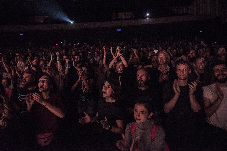 Aplauz posle predstave Olimp, Bitef 2017