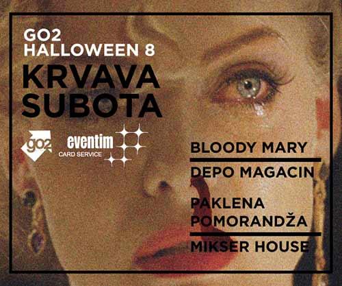 Go2 Halloween 8 KRVAVA SUBOTA: Doniraj svoju krv, pomozi nekome i pokupi dve karte za žurku!