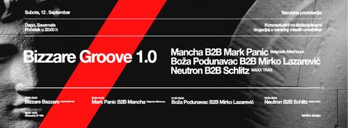 Bizzare Groove 1.0: 10+ sati programa u Depo Magacinu! Beograd 2015