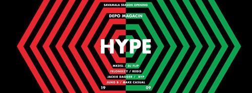 Hype: Veliko otvaranje sezone u Savamali sa čak osmorica beogradskih DJ-eva! | Depo magacin Beograd