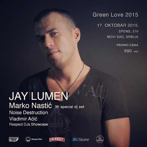 GREEN LOVE FESTIVAL 2015: Spremite se za nove žurke u oktobru i decembru!