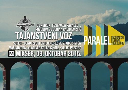 4. Festival Paralel: Tulsa & Tajanstveni voz u okviru muzičkog programa festivala