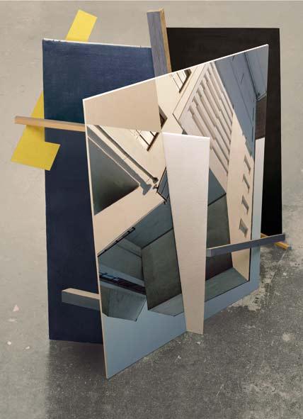 ARHITEKTURA SLIKE: Izložbe nemačke autorke Christine Erhard u Galeriji FLU