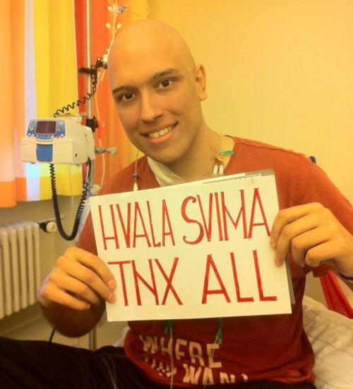 Nemanja Ivanović - Manya: Hvala svima! Dance4Manya!