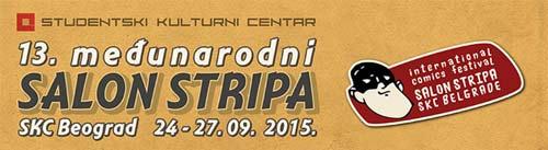Kompletan program i satnica 13. međunarodnog SALON STRIPA! | SKC 2015