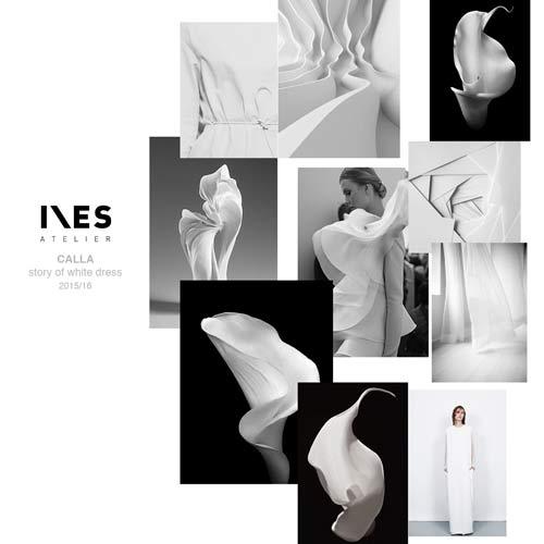 INES atelier predstavlja kolekciju CALLA! | Story of white dress - Priča o beloj haljini