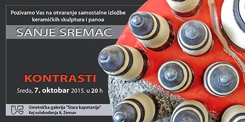 KONTRASTI: Samostalna izložba slikara keramičara Sanje Sremac u galeriji STARA KAPETANIJA