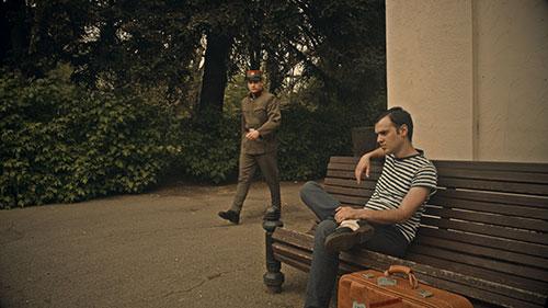 Scena iz spota za pesmu Ja putujem