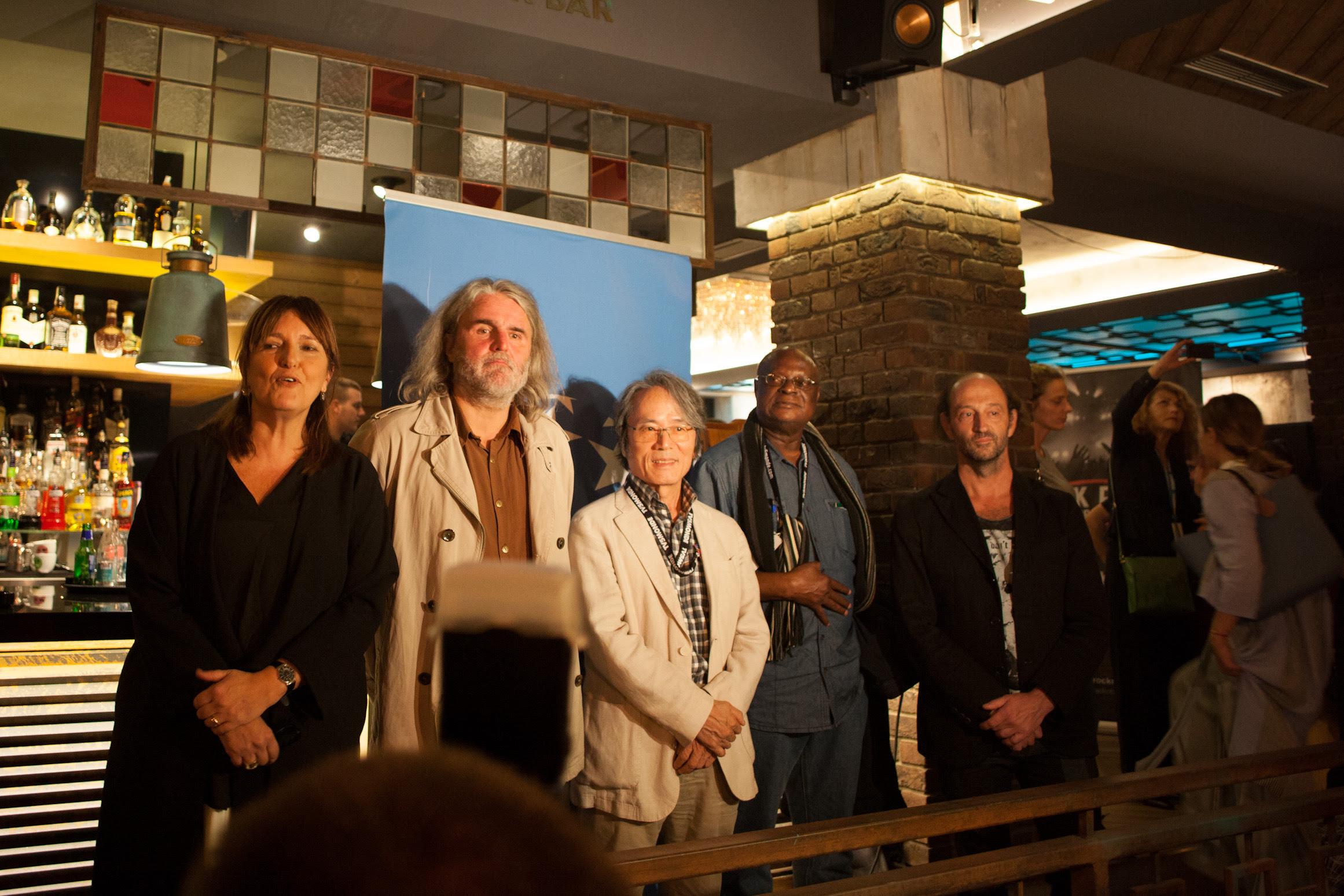 Međunarodni žiri na proglašenju nagrade 50. Bitefa / Foto: Jovo Marjanović