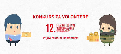 Slobodna zona - konkurs za volontere
