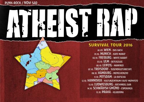 Evropska turneja Atheist Rap